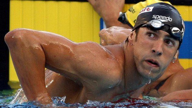 Americký plavec Michael Phelps na mistrovství světa v Římě