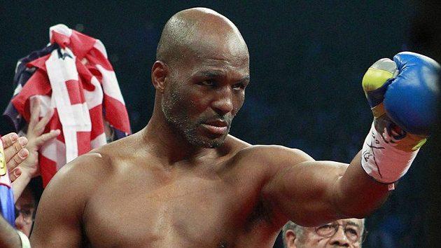 Americký boxer Bernard Hopkins.