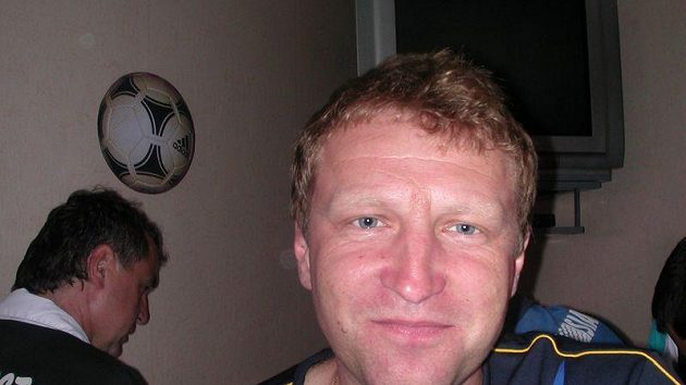 Trenér Varnsdorfu Aleš Křeček