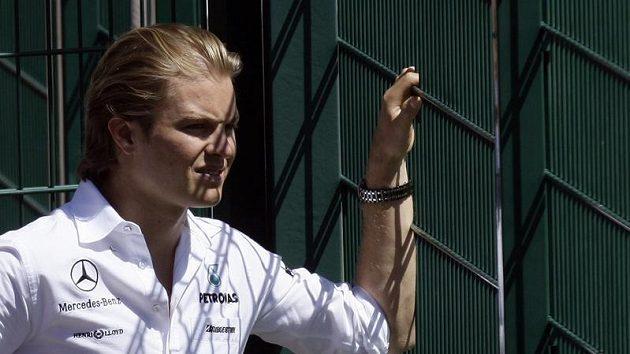 Pilot formule 1 Nico Rosberg z Německa