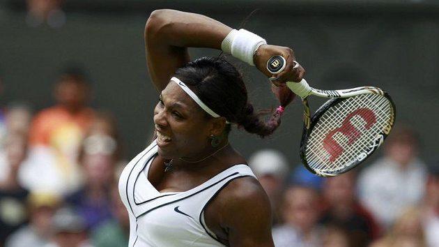 Tenistka Serena Williamsová.
