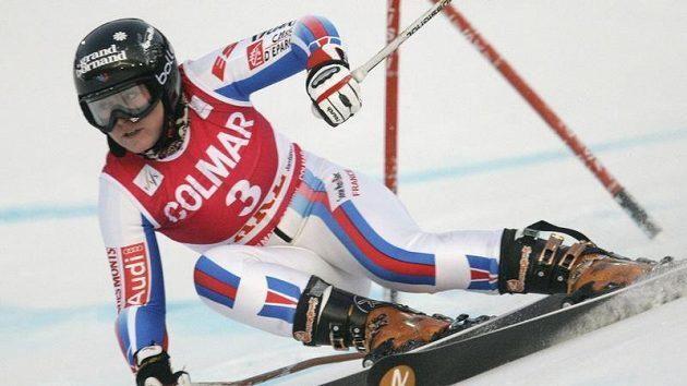Francouzská lyžařka Tessa Worleyová v Aare