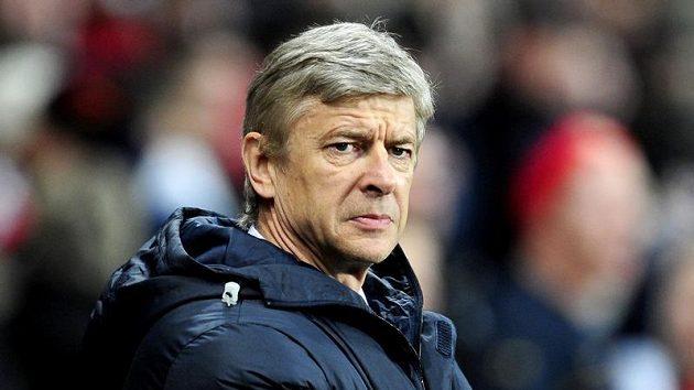Trenér Arsenalu Arsene Wenger