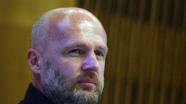 Trenérovi Michalu Bíálkovi nebylo po zápase se Španělsakem moc příjemně.