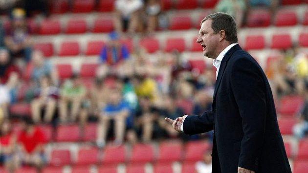Trenér fotbalistů Plzně Pavel Vrba byl se sedmigólovou výhriou i atmosférou spokojen.