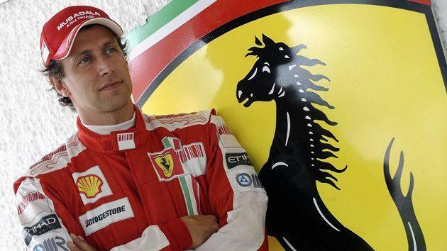 Bývalý pilot Ferrari Luca Badoer