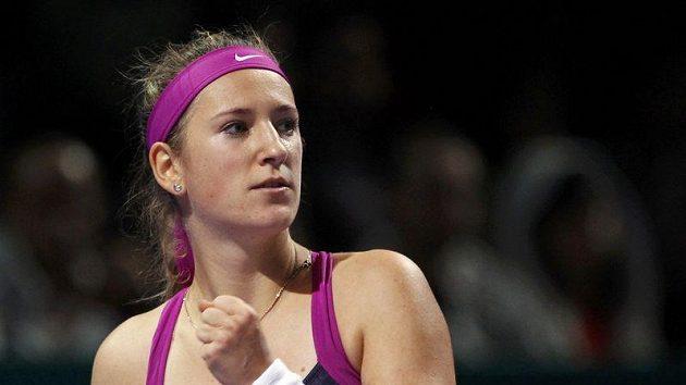 Běloruská tenistka Viktoria Azarenková na Turnaji mistryň v Istanbulu
