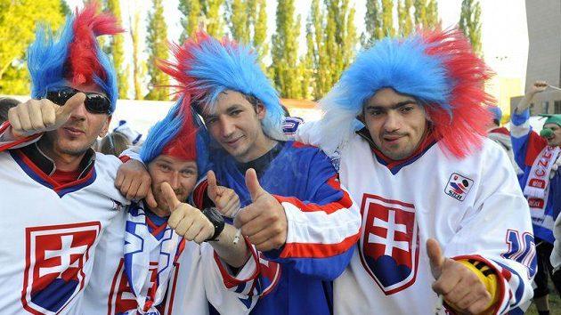 Slovenští fandové stále věří v zázrak.