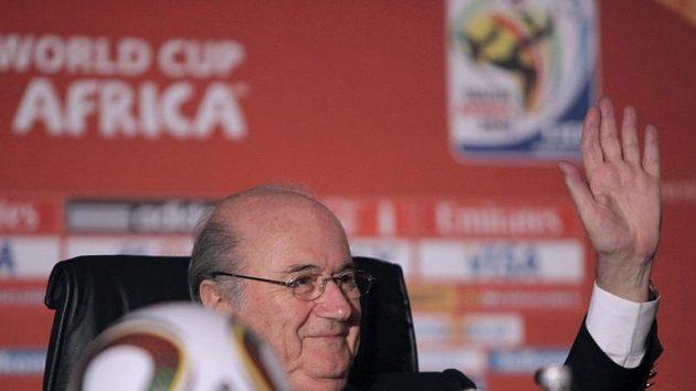 Šéf FIFA Sepp Blatter