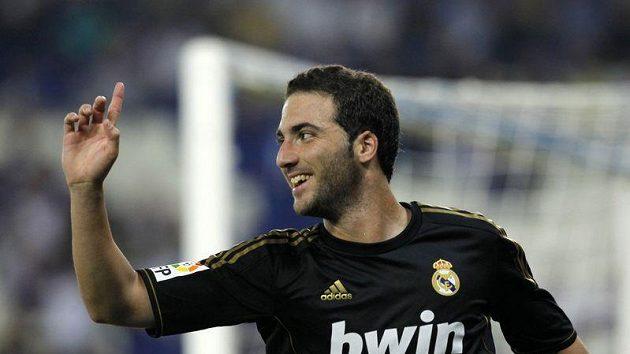 Argentinský útočník Gonzalo Higuaín byl největší hvězdou Realu.