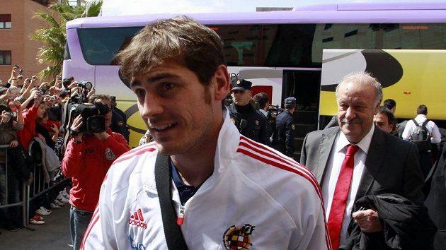 Brankář španělských fotbalistů Iker Casillas