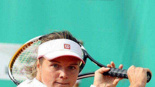 Česká tenistka Sandra Záhlavová.