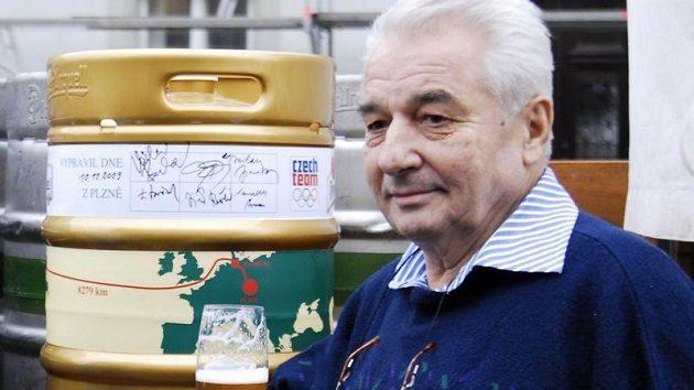 Legenda skoku na lyžích Jiří Raška.