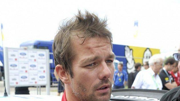 Francouzský jezdec týmu Citroën Sébastien Loeb