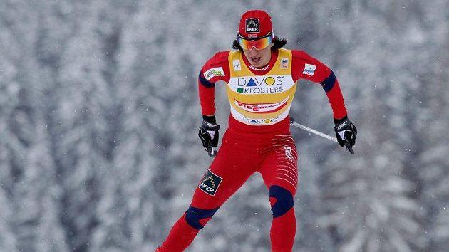 Norská lyžařka Martit Björgenová