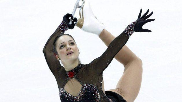 Sarah Meierová ze Švýcarska získala zlato na ME v krasobruslení.