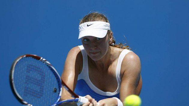 Petra Kvitová si poradila i s Ruskou Čakvetadzeovou a postoupila do třetího kola Australian Open.