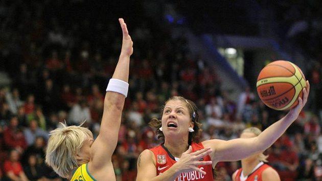 Veronika Bortelová byla klíčovou hráčkou zápasu