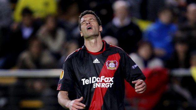 Michael Ballack v dresu Bayeru Leverkusen