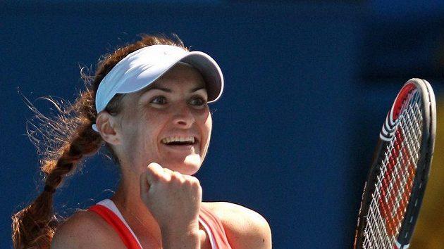 Česká tenistka Iveta Benešová na úvod sezóny vyřadila krajanku Šafářovou.