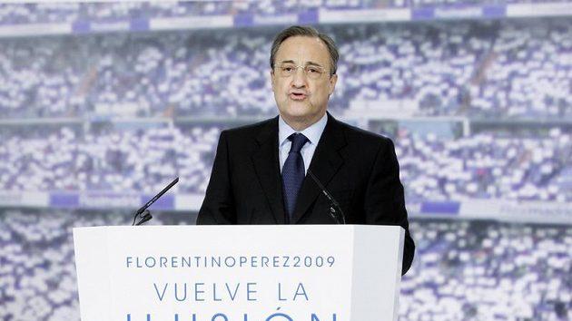 Prezident Realu Madrid Florentino Pérez
