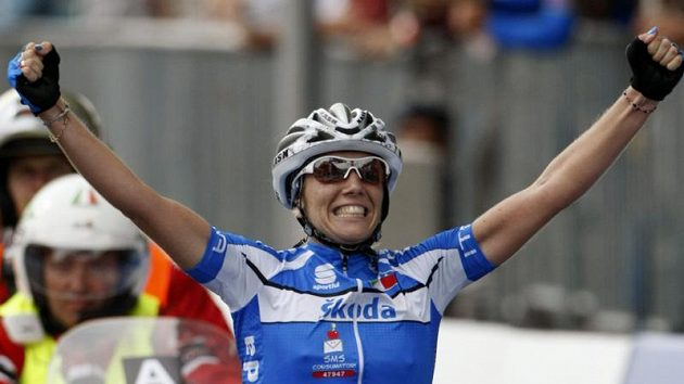 Italka Tatiana Guderzová je cyklistickou mistryní světa