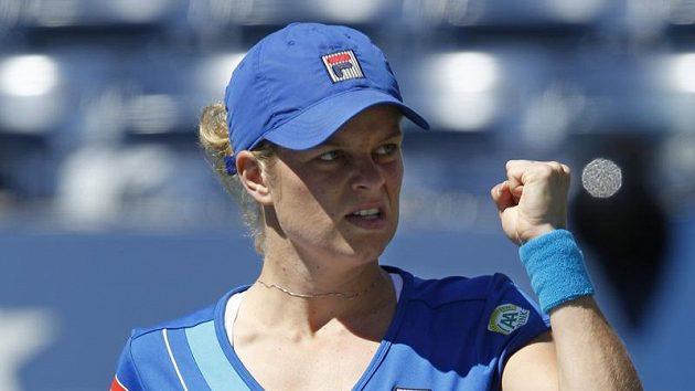 Kim Clijstersová po postupu do čtvrtfinále US Open