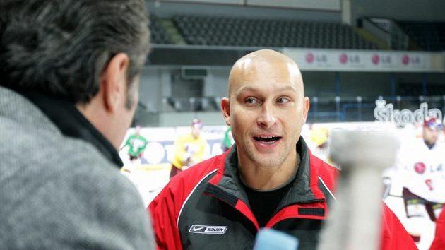 Hlavní trenér pražské Sparty David Volek