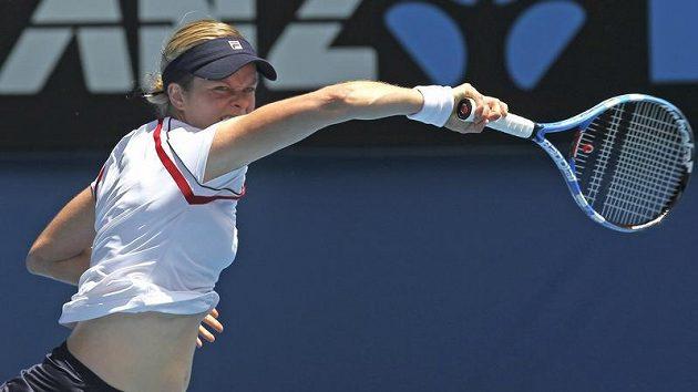Belgická tenistka Kim Clijstersová na archivním snímku