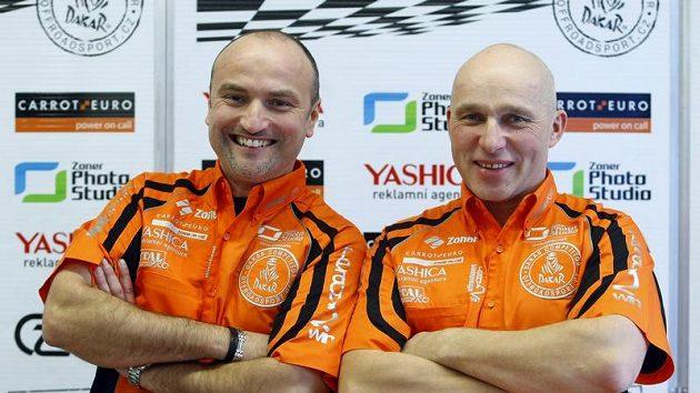 Tomáš Ouředníček (vlevo) a Miroslav Zapletal - ilustrační foto