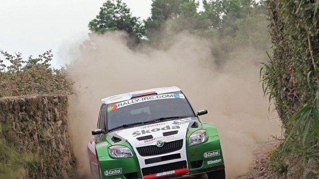 Jan Kopecký během Rallye Azory