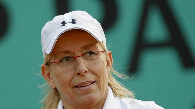 Americká tenistka českého původu Martina Navrátilová