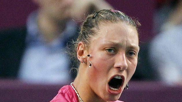 Tenistka Klára Zakopalová