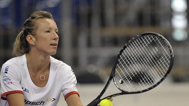 Česká fedcupová reprezentantka Květa Peschkeová