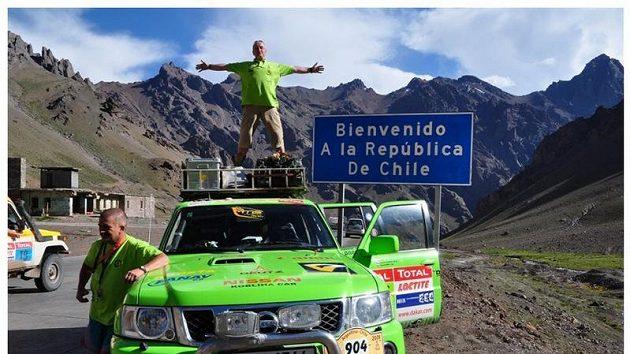 MS - rallytruck tým na jihoamerickém Dakaru - ilustrační foto