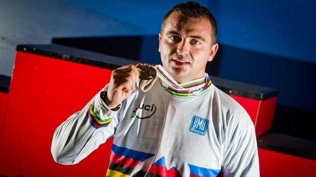 Michal Prokop získal titul mistra světa ve fourcrossu.