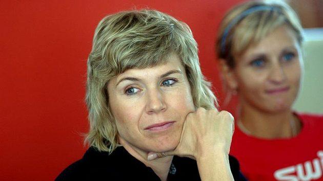 Kateřina Neumannová na vyhlášení ankety Král bílé stopy