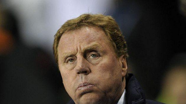 Kouč Tottenhamu Harry Redknapp.