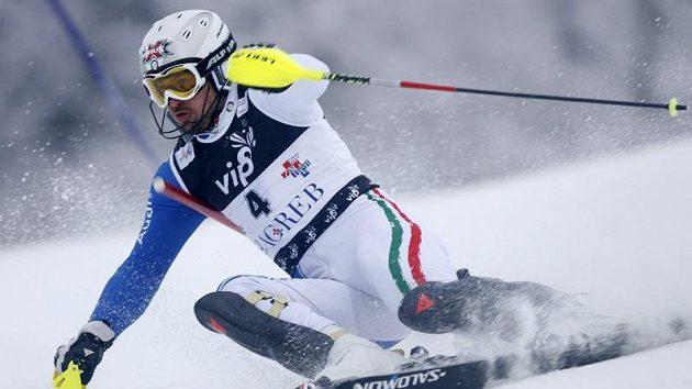 Italský slalomář Giorgio Rocca