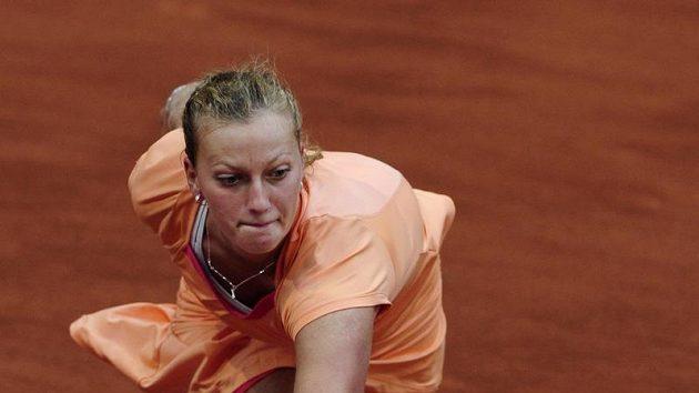 Petra Kvitová podlehla v prvním kole turnaje v Madridu Dánce Wozniacké.