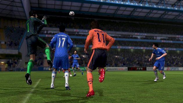 Brankáři budou ve FIFA 10 předvádět naprosto realistické zákroky!