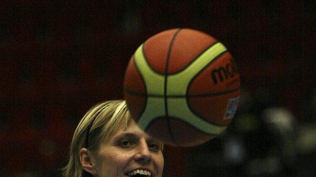 Kapitánka českého basketbalové týmu Hana Horáková