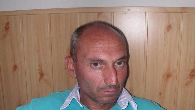 Trenér fotbalistů Mostu Jorge Aňon.