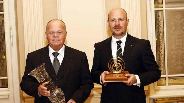 Tomáš Enge (vpravo) a Břetislav Enge