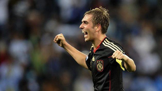 Kapitán německých fotbalistů Philipp Lahm.