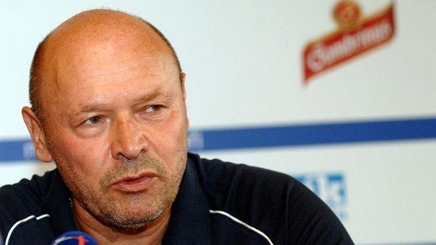 Trenér Miroslav Koubek.