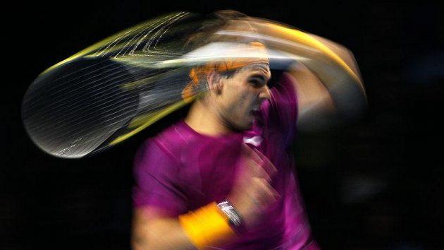 Španělský tenista Rafael Nadal je ve finále Turnaje mistrů.