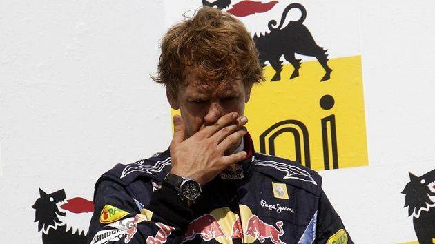 Sebastian Vettel zpytuje svědomí.