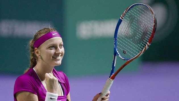 Tenistka Petra Kvitová na Turnaji mistryň