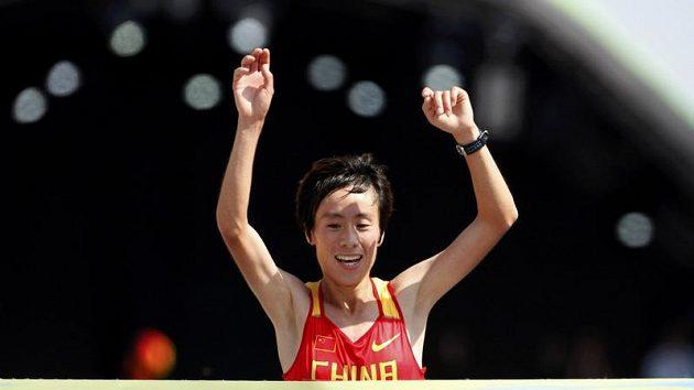 Čínská běžkyně Süe Paj vyhrála na MS v Berlíně maratón